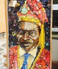Mosaic Inspiration Project's signature artworks are paintings and mosaics of people who have brought positive change to the world.